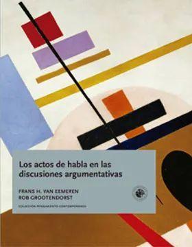 ACTOS DE HABLA EN LAS DISCUSIONES ARGUMENTATIVAS