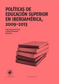POLITICAS DE EDUCACION SUPERIOR EN IBEROAMERICA