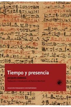 TIEMPO Y PRESENCIA