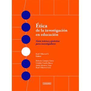 ETICA DE LA INVESTIGACION EN EDUCACION