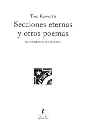 SECCIONES ETERNAS Y OTROS POEMAS