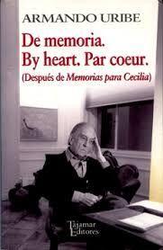 DE MEMORIA. BY HEART. PAR COEUR