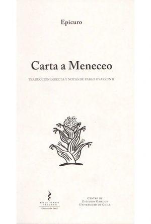 CARTAS A MENECEO