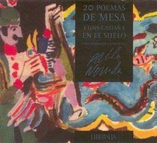 20 POEMAS DE MESA Y UNA CASTAÑA EN EL SUELO (CD)
