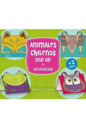 ANIMALES CHILENOS POP UP + ADIVINANZAS