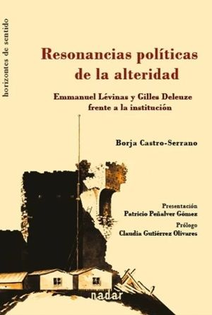 RESONANCIAS POLITICAS DE LA ALTERIDAD