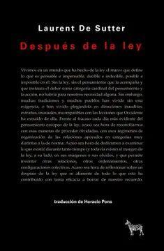 DESPUES DE LA LEY