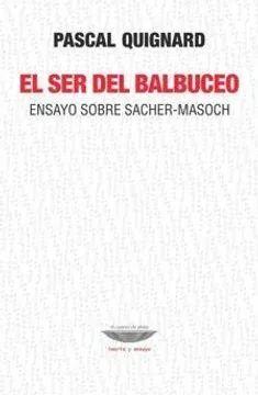 EL SER DEL BALBUCEO