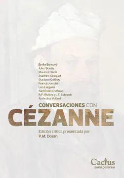 CONVERSACIONES CON CEZANNE