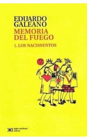 MEMORIA DEL FUEGO 1 (EDICIÓN 2015)