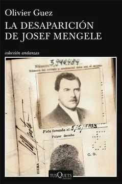 DESAPARICION DE JOSEF MENGELE, LA
