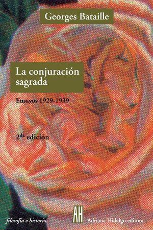 CONJURACION SAGRADA ENSAYOS 1929 1939